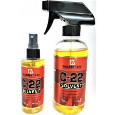 C22 Walker Solvent Remover Spray Hair Extension Lace Wig Toupee 4oz & 12oz