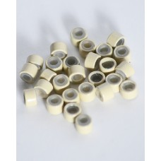 Blonde Silicone Micro Rings
