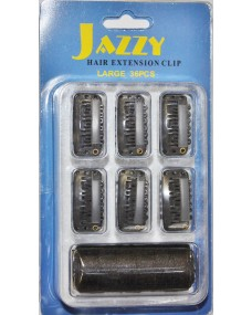 36 Pce Weaving Clips and Black Thread